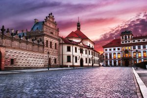street of Prague, Czech Republic
