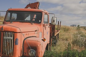 Old Truck on the Field