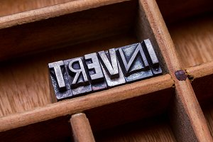 Typesetter drawer: INVERT