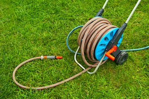 hose for watering the garden