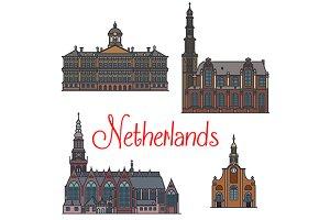 Famous landmarks of Netherlands
