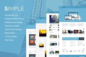 Simple Love - WordPress Theme