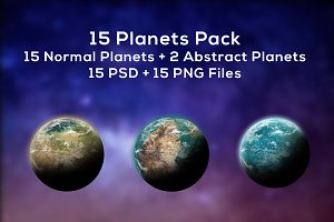 Planets Pack (15 Planets)