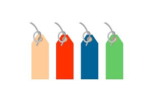 Colored Tags Strings