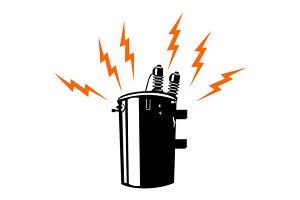 Electricity Transformer Retro