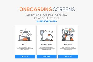 15 Onboarding Screens for App