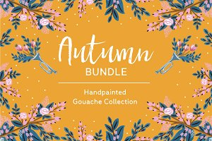 Autumn Bundle Seamless Pattern