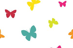 Butterfly vector. Butterfly vector