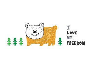 I love my freedom