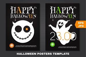 Halloween Poster Template.EPS,JPG,AI