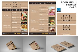 Food / Restaurant Menu Flyer-V373