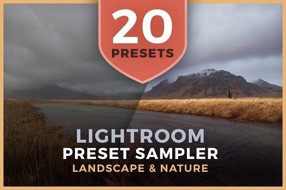 Lightroom Preset Sampler - Landscape - Actions