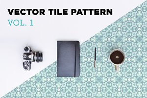 Vector Tile Pattern - Vol. 1