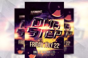 Dubstep - Flyer Template
