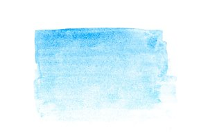 blue watercolor stroke background