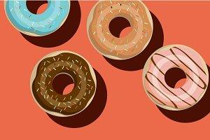 doughnut vector