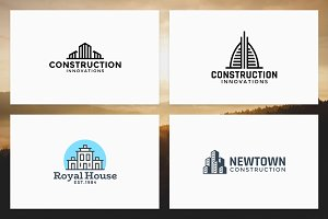 Real Estate and Construction Logos