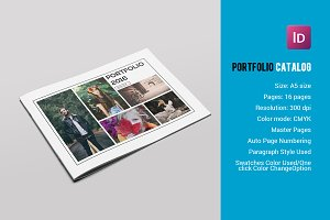 Photographer Portfolio Brochure-V594