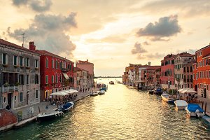 canal Cannaregio in Venice