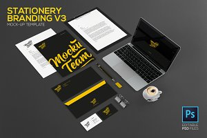 Stationery/Branding Mock-Up V3 Upd.