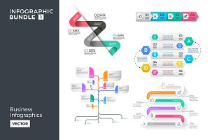 Business infographics bundle 1