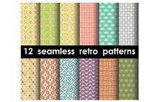 seamless pattern set