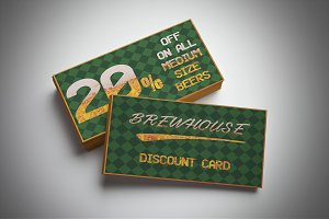 Brewery Discount Card