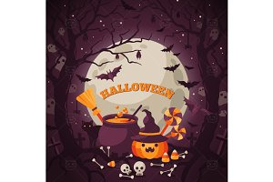 Dark Halloween Backgr