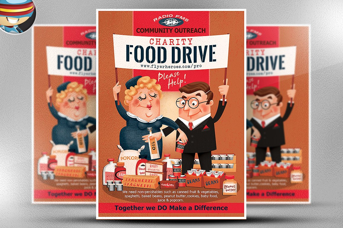 Food Drive Flyer Samples example expense report – Flyer Samples