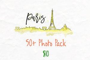 Paris Photo Pack - 50+ images