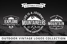 Outdoor Vintage Logo Collection