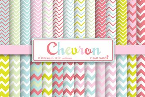30 chevron pattern