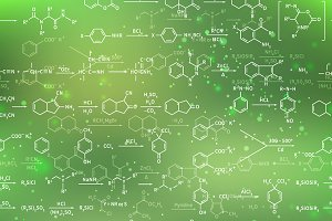 Chemical equations and formulas