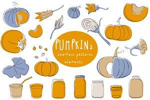 Pumpkins & Jars
