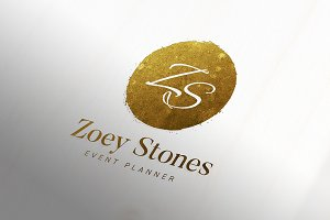 Amazing Gold Foil Logo