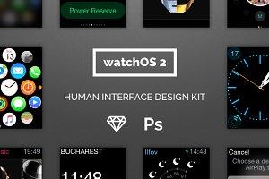 WatchOS 2 Human Interface UI Kit
