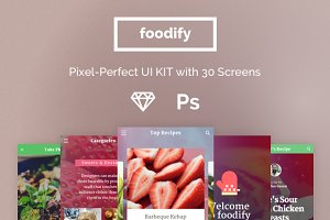 Foodify App UI kit