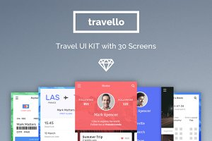 Travello Travel App UI Kit