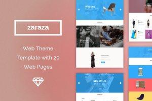 Zaraza Web Theme Template