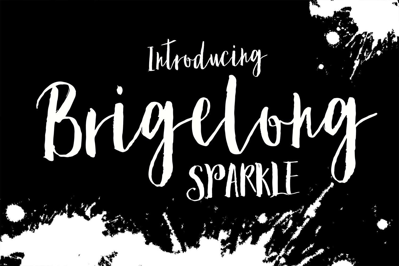 224d59b2f Sparkle Brush ~ Script Fonts ~ Creative Market
