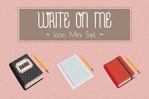 Write On Me - Icon Mini Set