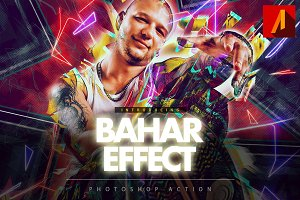Bahar Effect Photoshop Action