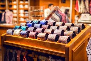 Assortment of man's tie