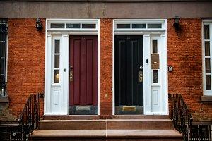 View of Front Doors