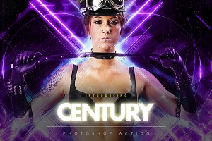 Century Photoshop Action