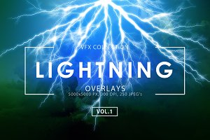 Lightning Effect Overlays Vol. 1