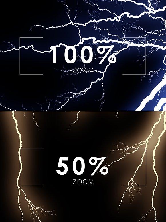 Lightning Effect Overlays Vol  1