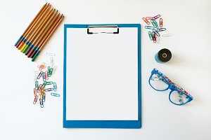 Clipboard Styled Stock Image