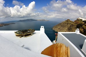 Santorini world