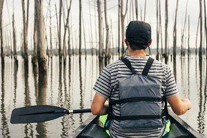 Canoeing in Arkansas